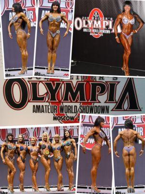 """Olympia Amateur Moscow"" 04-05.12.2015г., Москва, Россия"