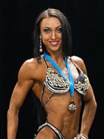 Оксана Юхно – серебряная призерка по бодифитнесу  св. 168см. Чемпионата Республики Беларусь 2017г.