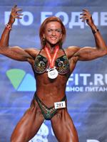 Екатерина Медведева – абсолютная победительница по Women's Physique Чемпионата Москвы 2017г.